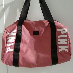 New!!!!! Pink duffle bag